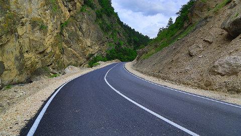 Одна из автотрасс в Ингушетии