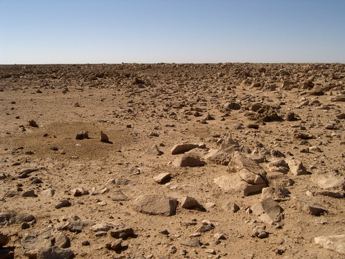 Пустыня в провинции Анбар
