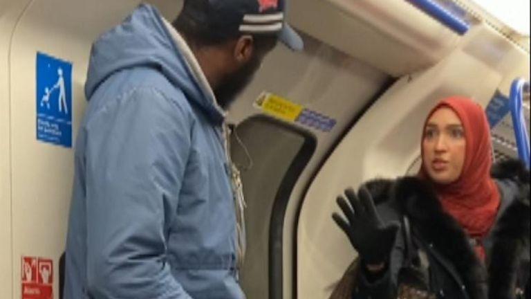 Кадр из видеозаписи инцидента