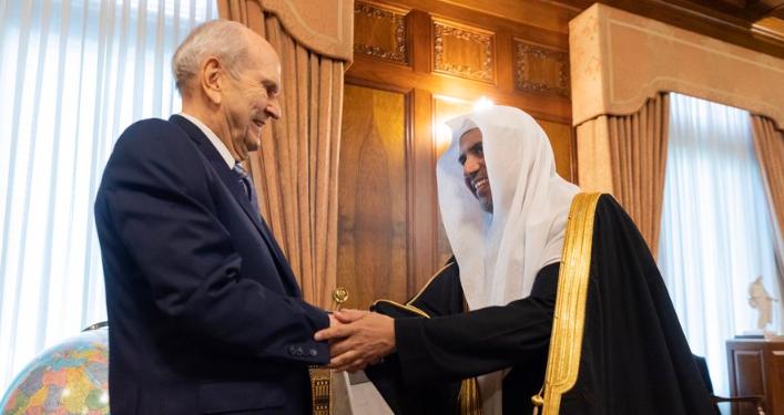 Встреча мусульманского и мормонского лидера