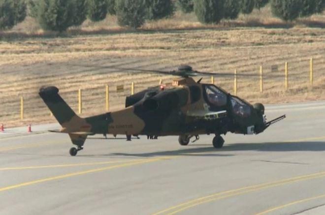 Турция испытала отечественный вертолет