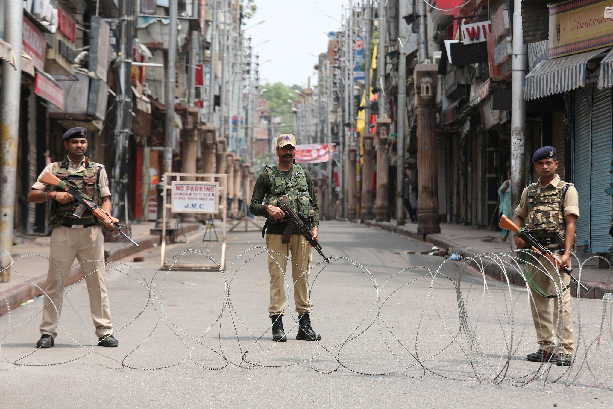 Джаму и Кашмир является очагом напряженности в регионе