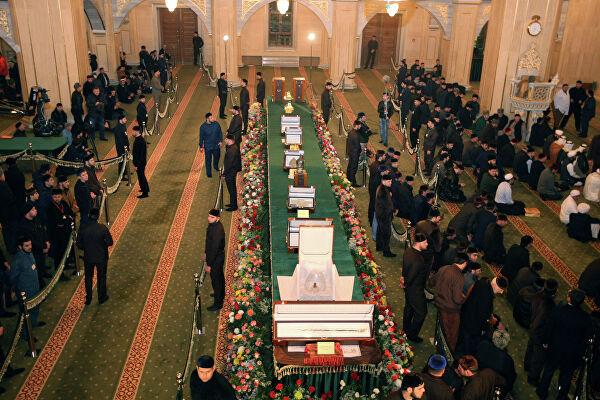 Экспозиция реликвий Пророка в Чечне