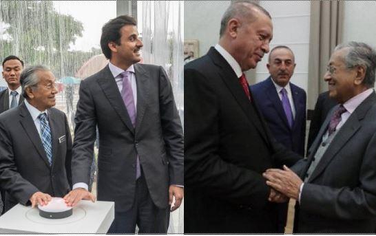 Главы Малайзии, Катара и Турции