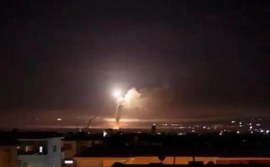 Атака ВВС Израиля в Сирии