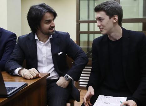 Мурат Мусаев и Егор Жуков