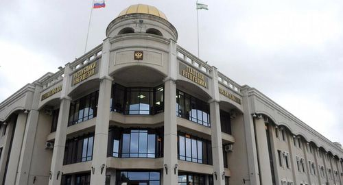 Здание правительства в Магасе