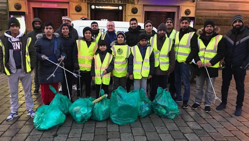 Мусульманские волонтеры