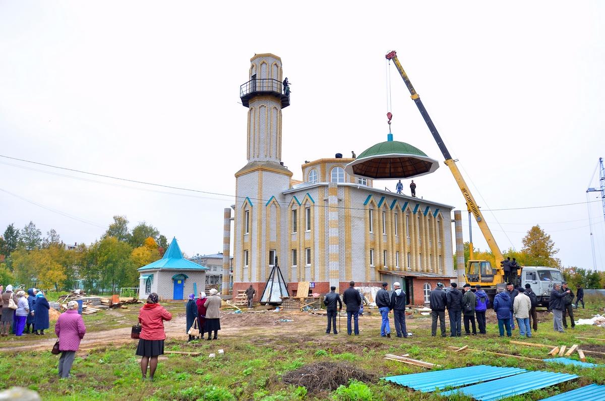 Строительство мечети в Новочебоксарске