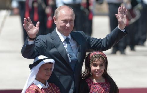 Владимир Путин во время визита в Палестину (архивное фото)