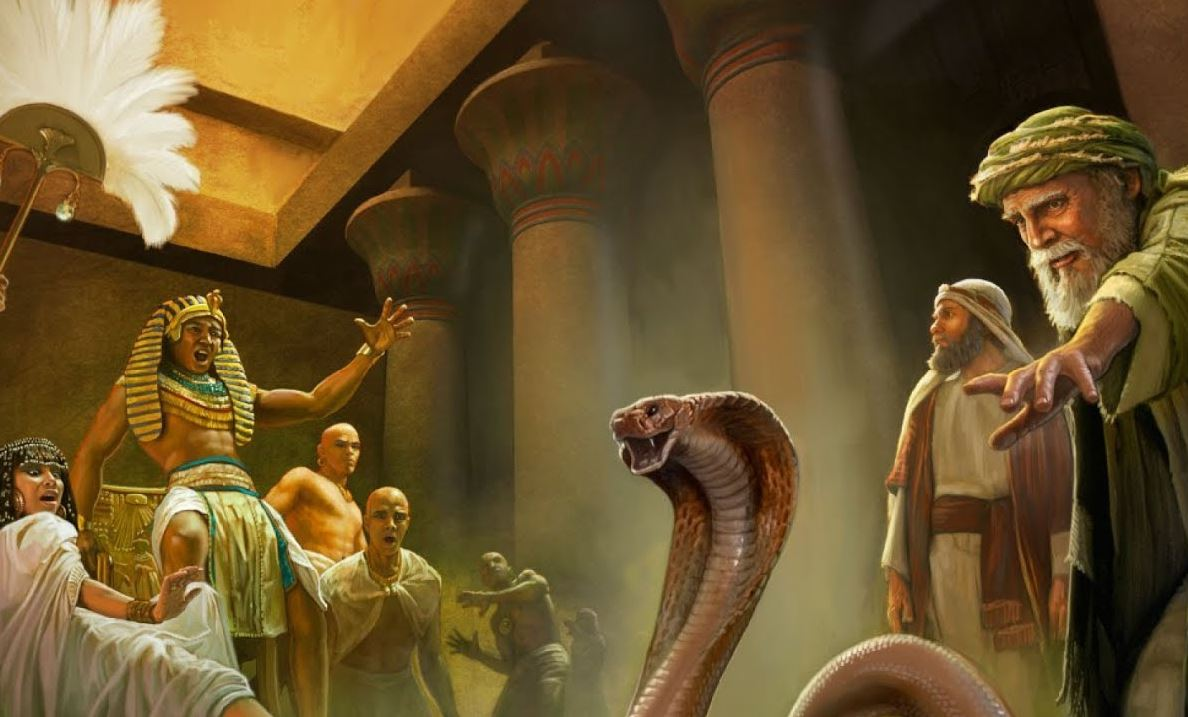 Моисей и фараон