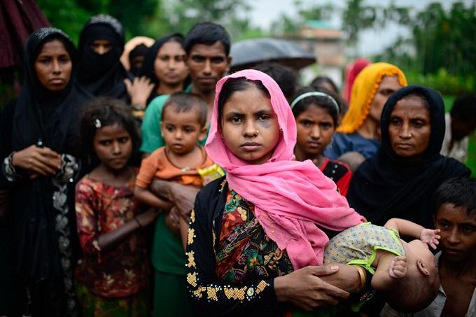 Мусульмане народности рохинья