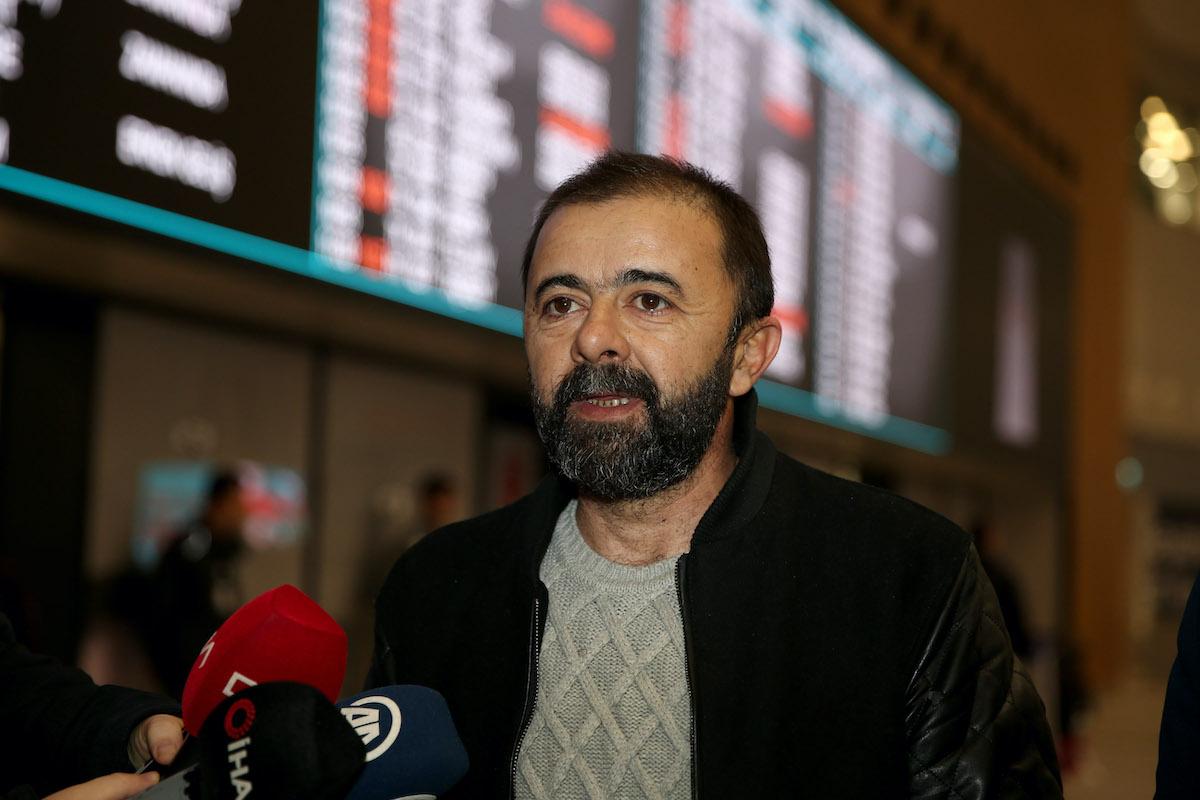 Один из задержанных турецких журналистов