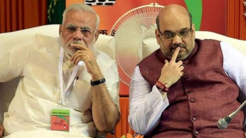 Первые лица партии Бхаратия Джаната