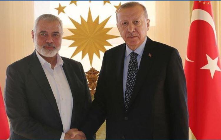 Эрдоган с Ханией