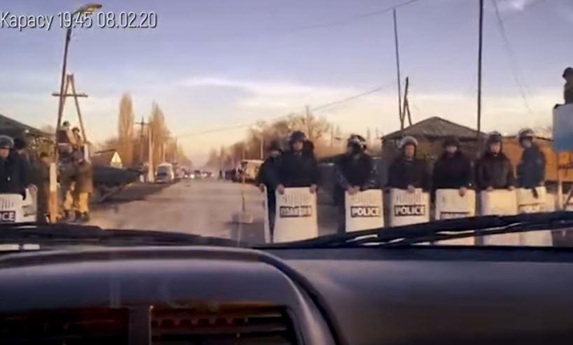 Правоохранители до выяснения обстоятельств задержали 50 человек