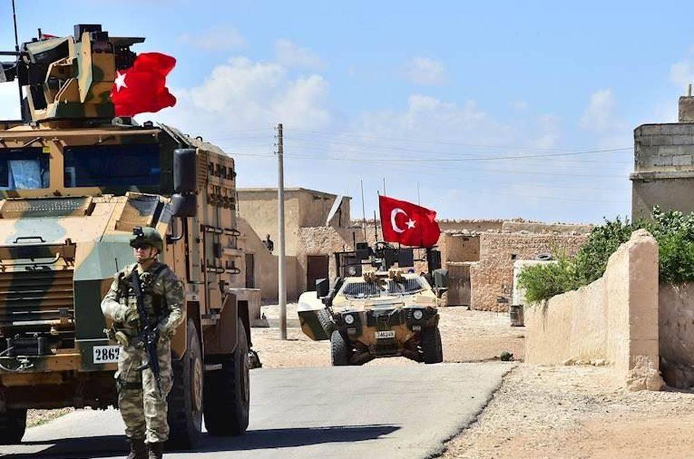 Турецкие военные в Сирии