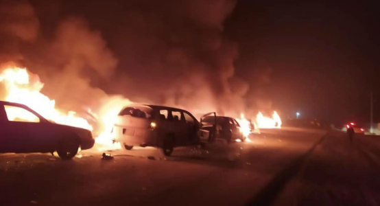 Ночные погромы и убийства в Кордайском районе