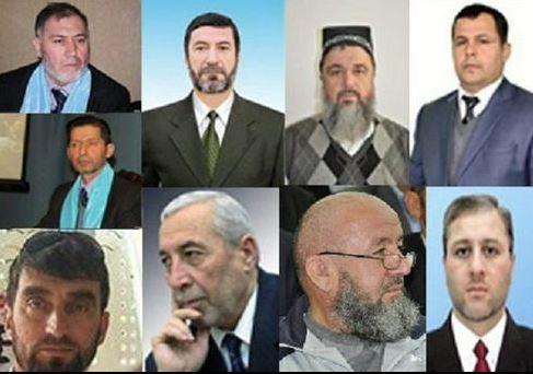 Заключенные под стражу члены ПИВТ. Фото akhbor-rus.com