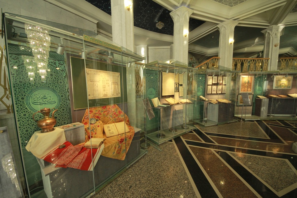 Исламский музей в мечети Кул Шариф. Казань