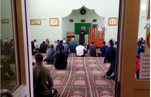 В мечети Чебаркуля