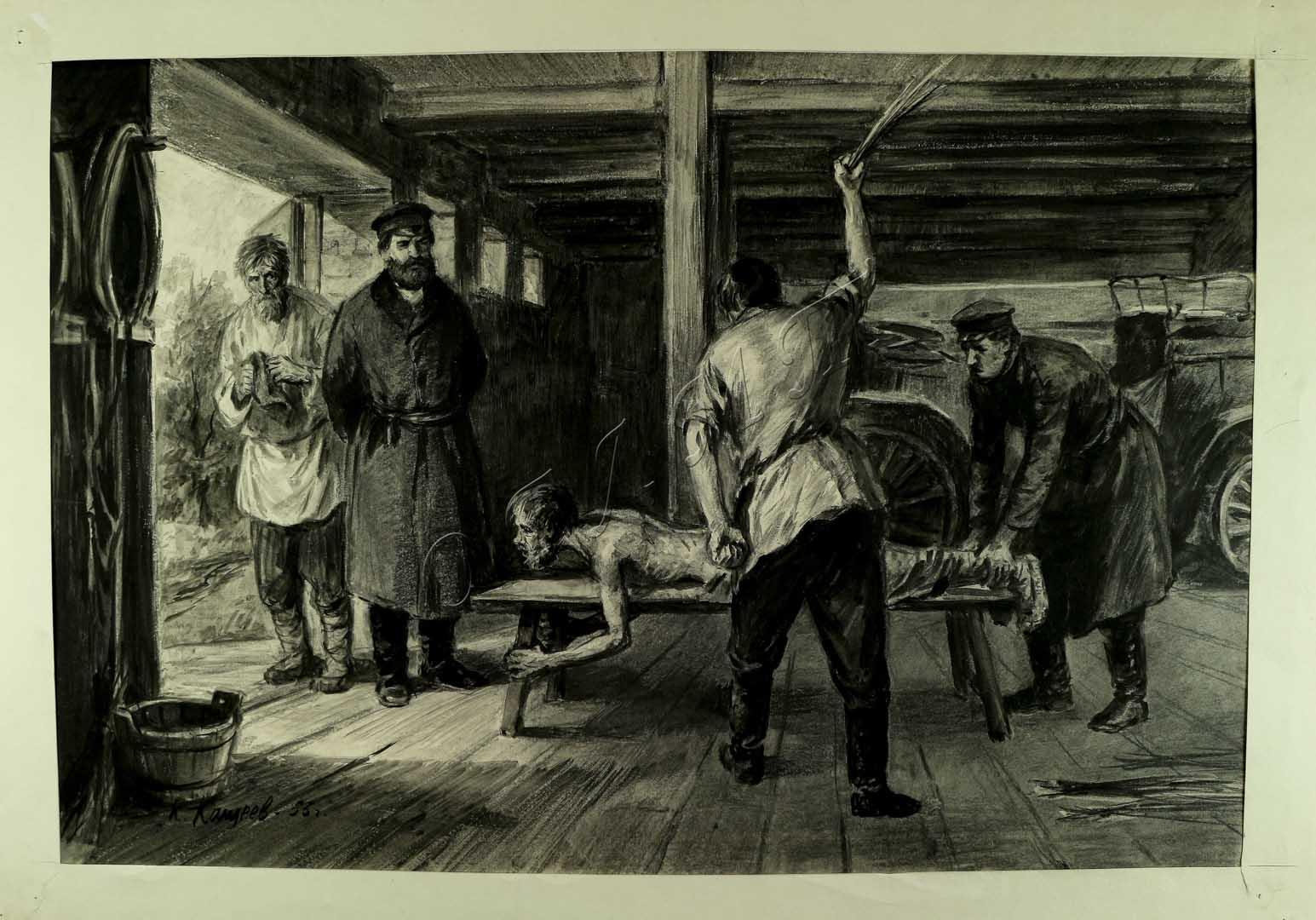 татарин избавил  крестьян от телесных наказаний помещика
