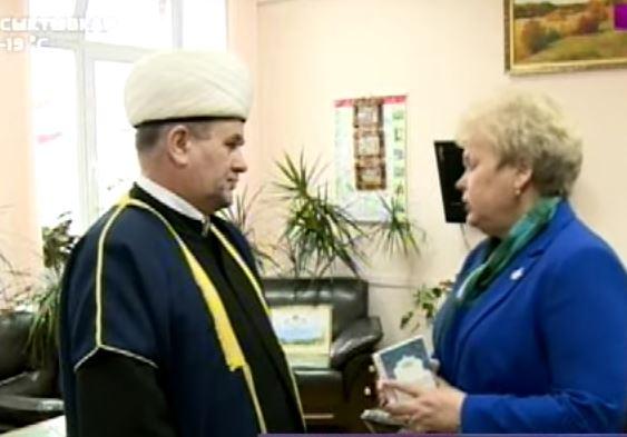 Муфтий Коми с председателем общественного совета при МВД республики