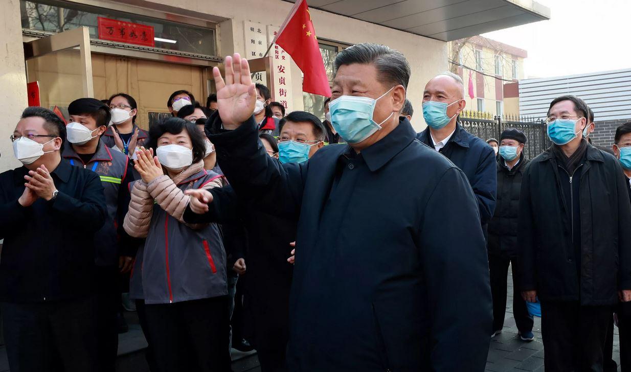 Глава КНР празднует победу