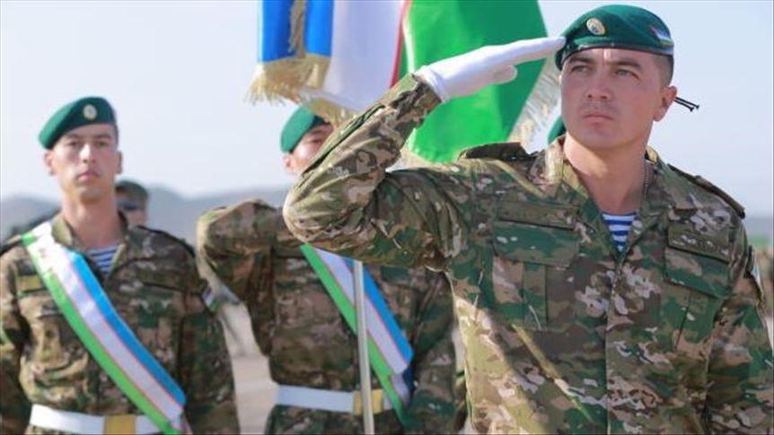 Узбекские военные