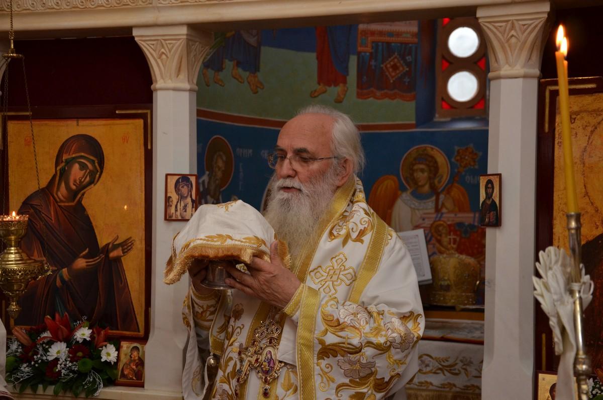 Сербский иерарх Милутин заразился от прихожан