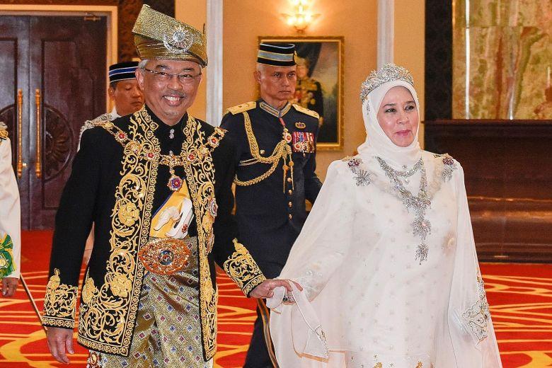 Король и королева Малайзии