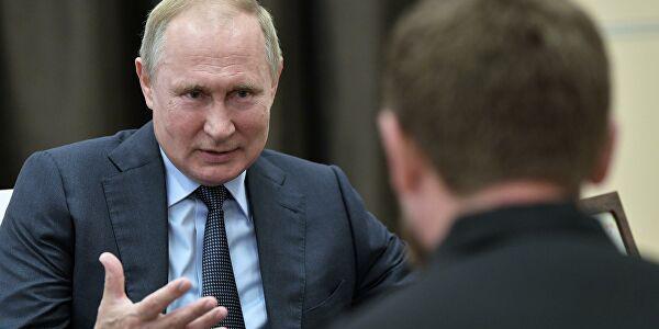 Владимир Путин и Рамзан Кадыров. Фото: РИА Новости