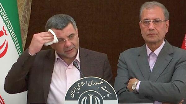 Печально известное выступление замглавы Минздрава Ирана