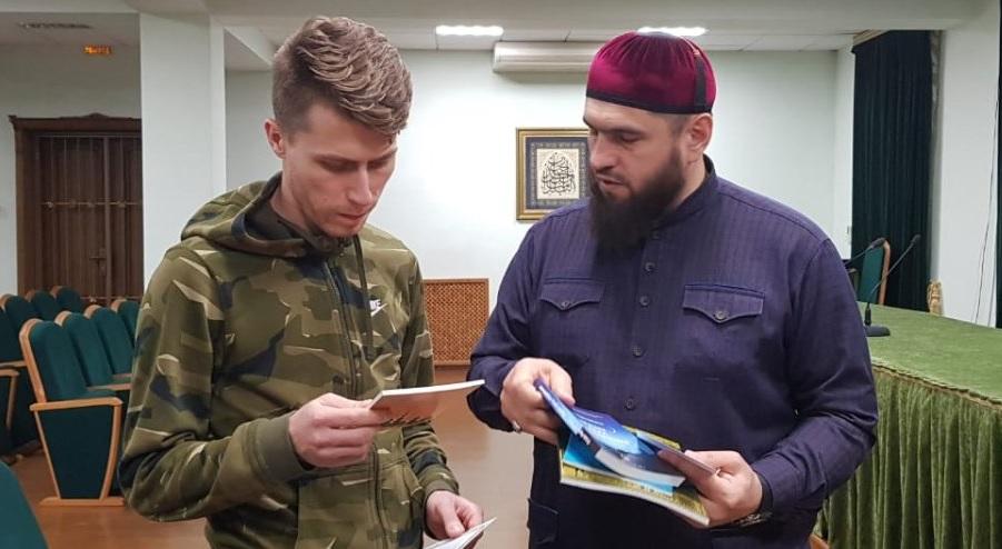 Александр Алауддин Тихомиров и Муса Альбиев