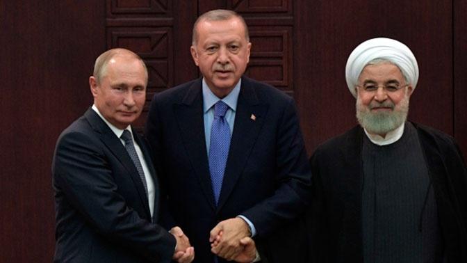 Лидеры России, Турции и Ирана