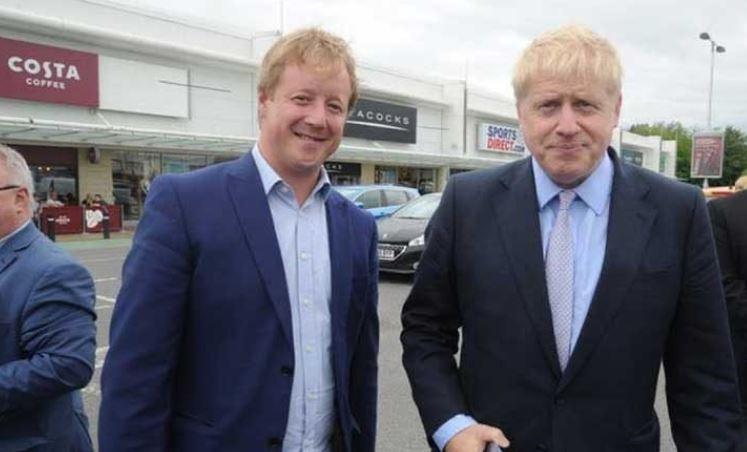 Пауль Бристов с премьером Борисом Джонсоном