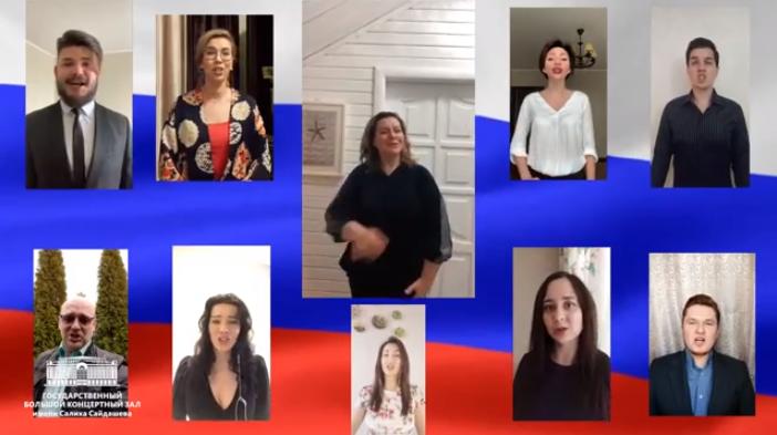 Солисты хора Татарстана