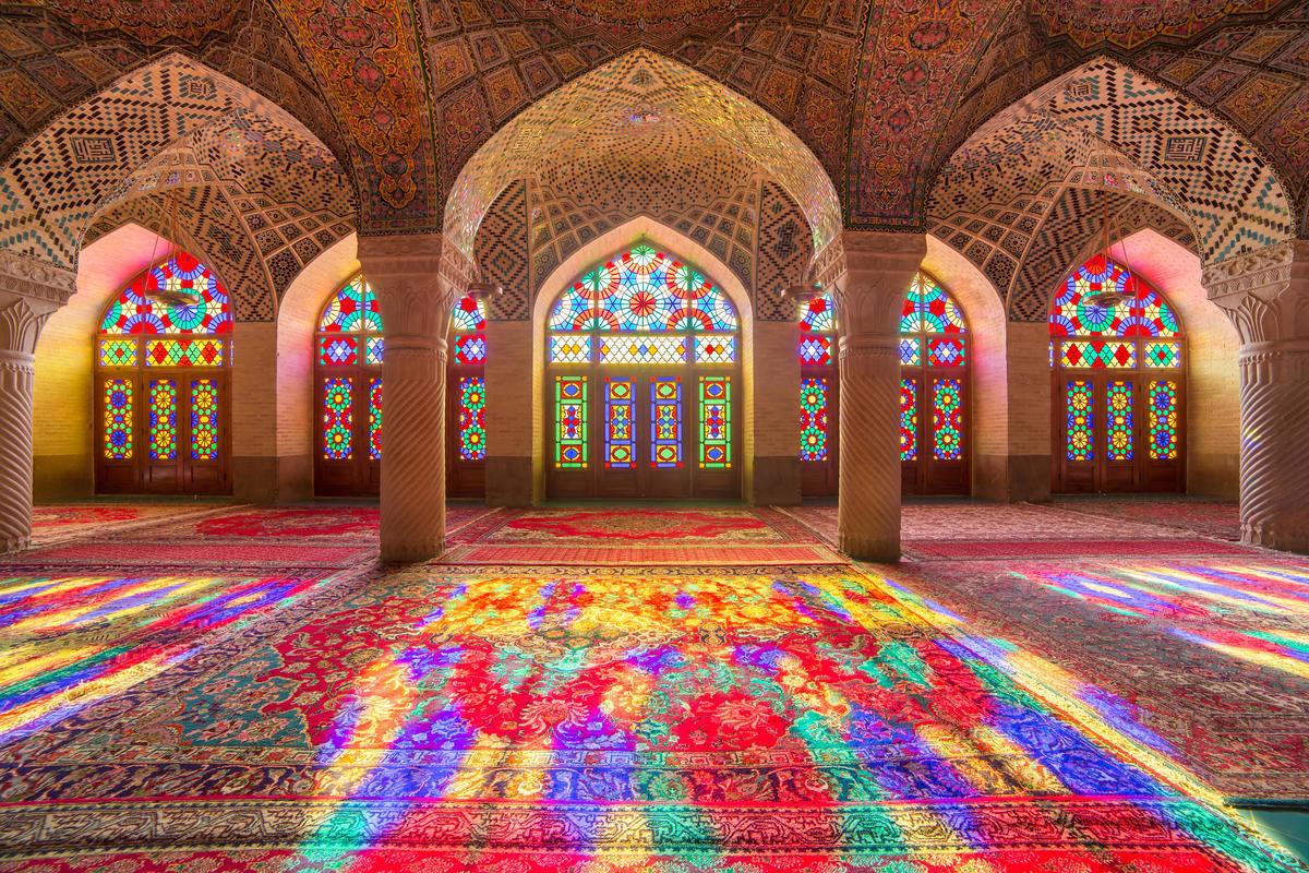 Розовая мечеть в Ширазе