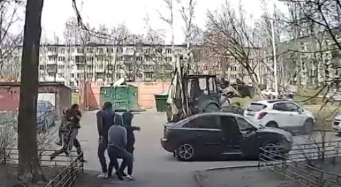 Момент похищения