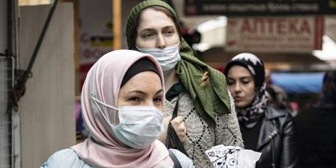 Жительницы Чечни