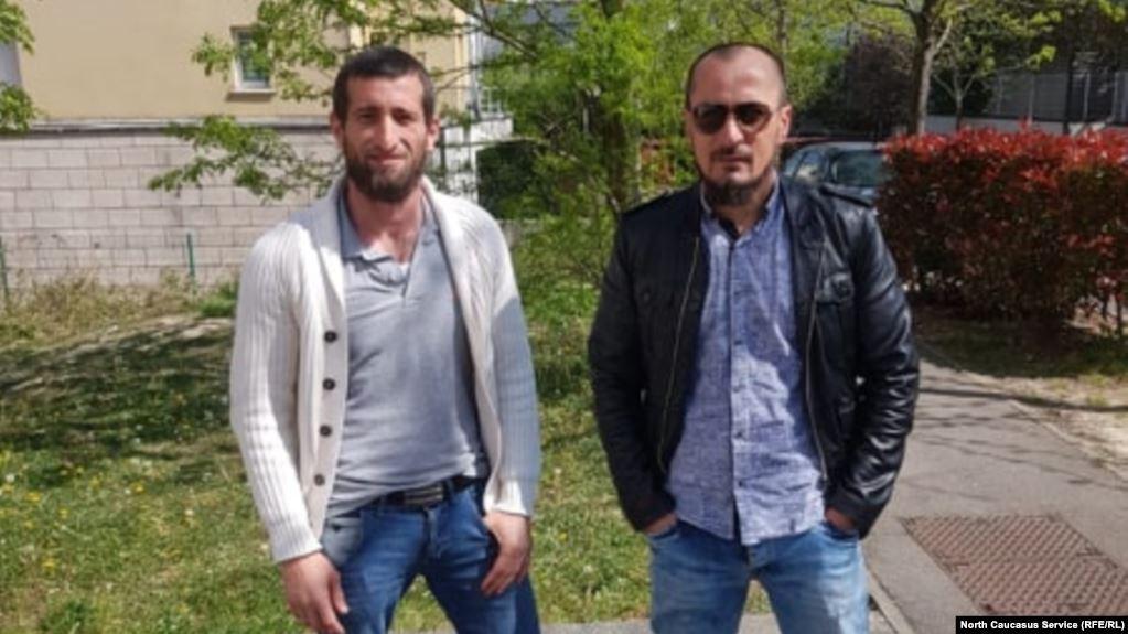Джамбулат Домбаев и Махди Улубаев. Фото: «Кавказ.Реалии».