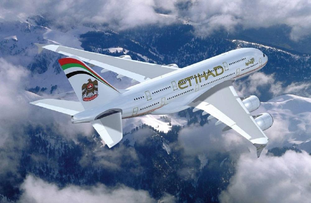 Самолет Etihad Airlines