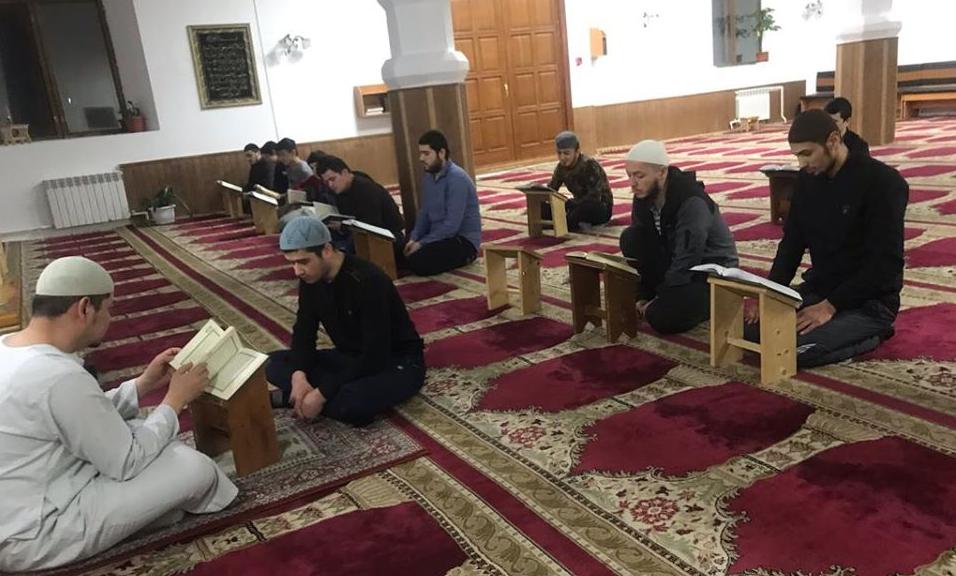 Ивановская область. Занятие в школе Коран-хафизов. Фото: ДУМ РФ