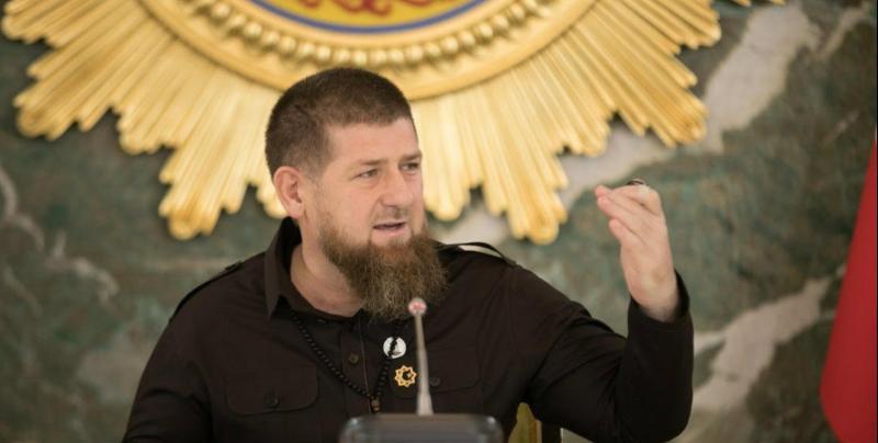 Рамзан Кадыров в ходе совещания