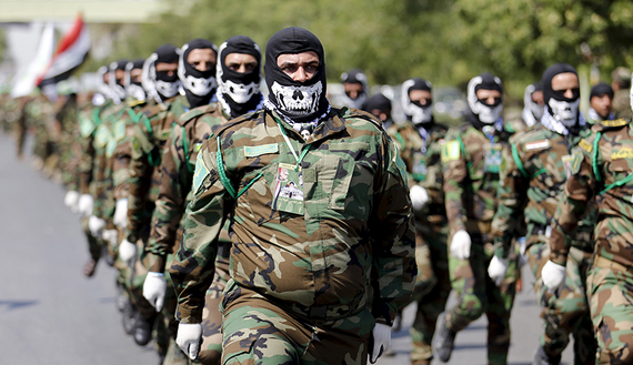 Бойцы «Хашд аш-Шааби»