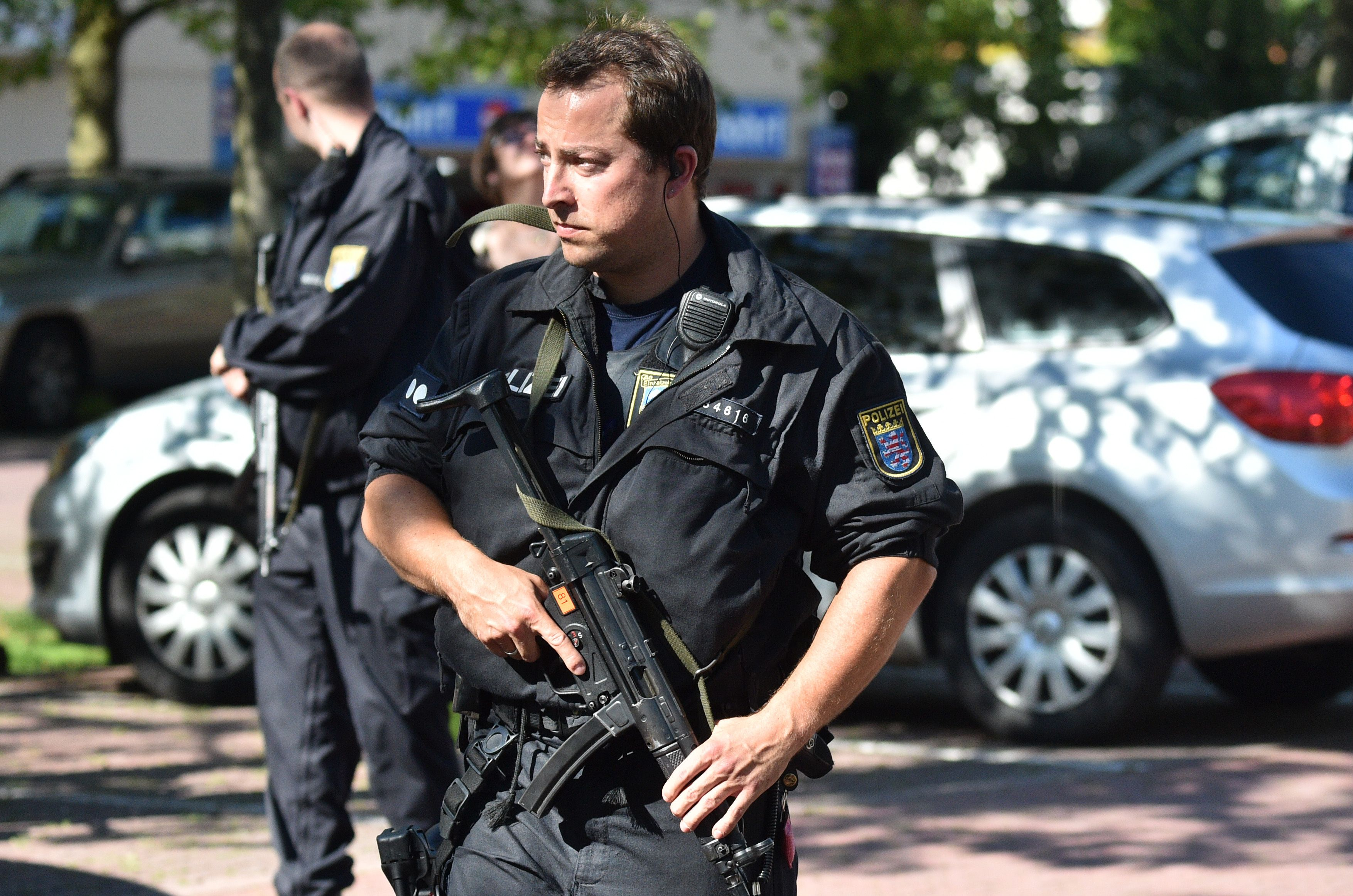 Сотрудники полиции в ФРГ