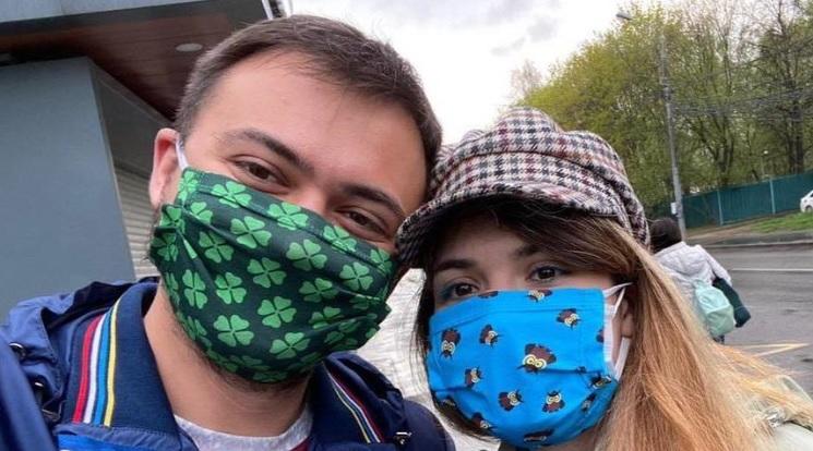 Олег Елисеев и Варвара Караулова