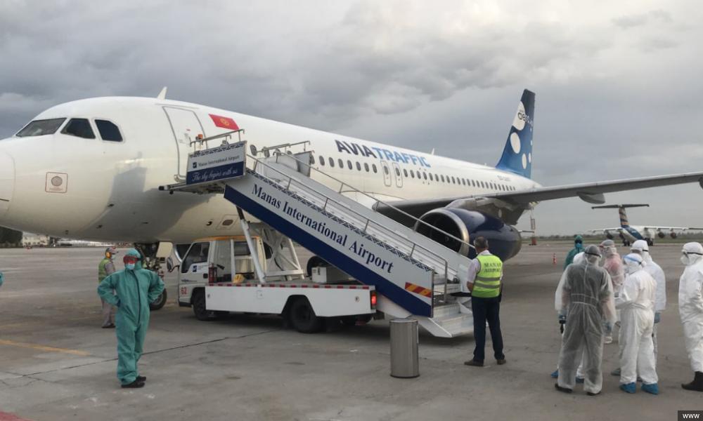 Вывозной рейс граждан Киргизии. Архивное фото