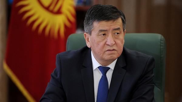 ПрезидентКиргизииСооронбай Жээнбеков