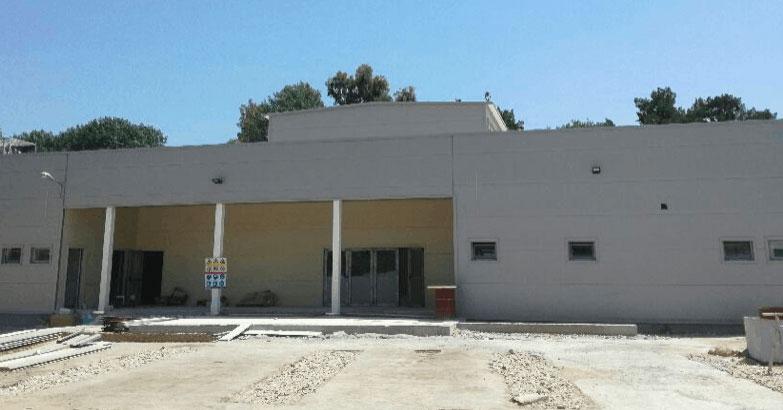 Здание будущей мечети Афин